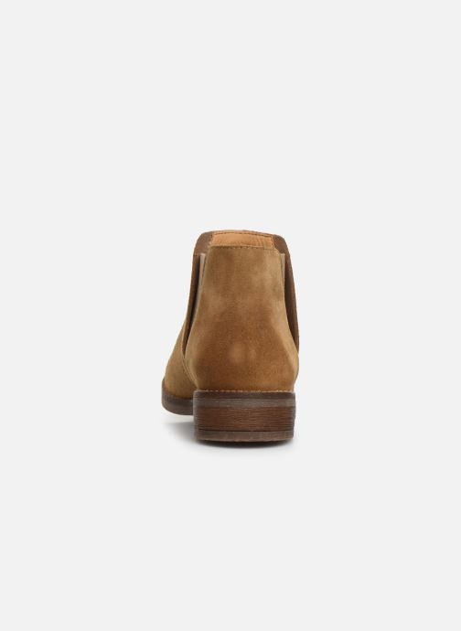 Ankle boots Clarks Demi Beat Beige view from the right