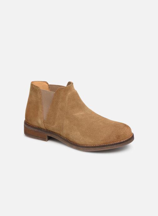 Bottines et boots Clarks Demi Beat Beige vue détail/paire