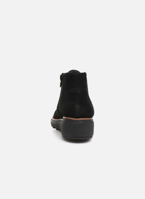 Bottines et boots Clarks Sharon Hop Noir vue droite