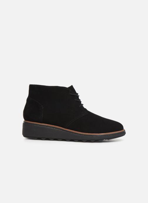 Bottines et boots Clarks Sharon Hop Noir vue derrière