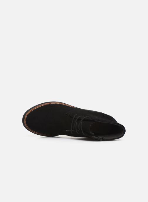 Bottines et boots Clarks Sharon Hop Noir vue gauche