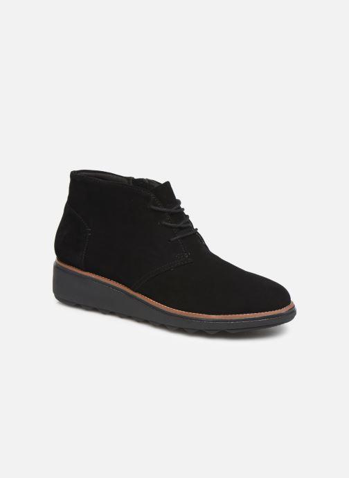 Bottines et boots Clarks Sharon Hop Noir vue détail/paire