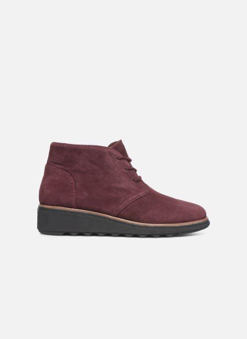 Bottines et boots Clarks Sharon Hop Bordeaux vue derrière