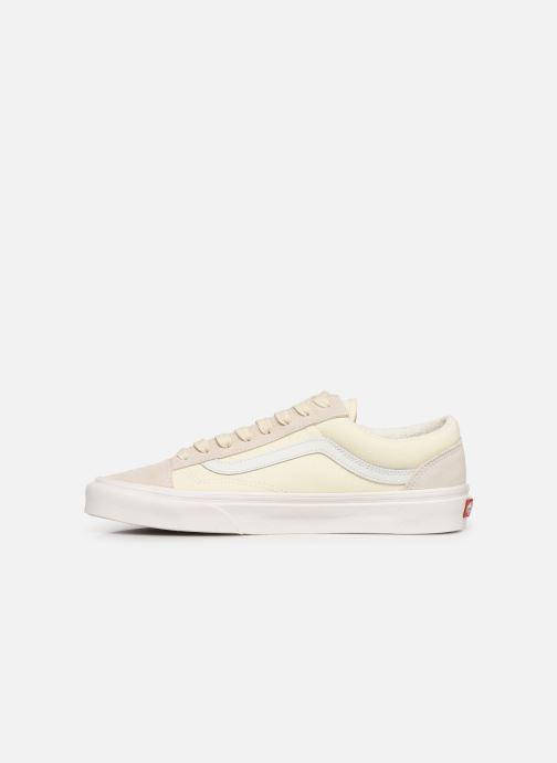 Sneakers Vans Style 36 (Vintage Sport) Bianco immagine frontale