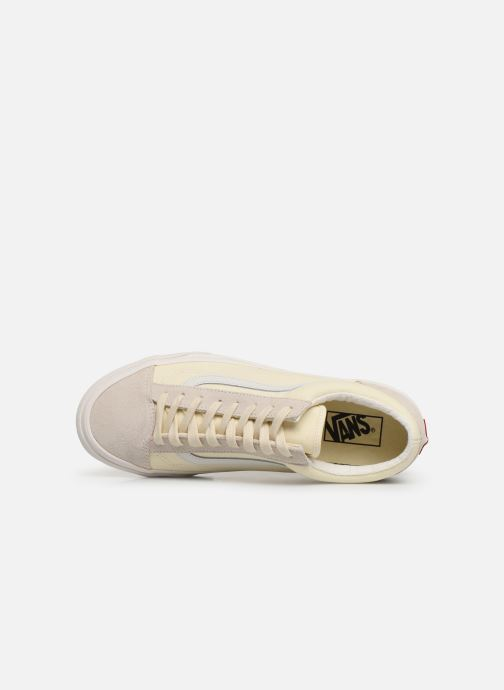Sneakers Vans Style 36 (Vintage Sport) Bianco immagine sinistra