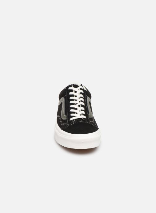 Sneaker Vans Style 36 (Vintage Sport) schwarz schuhe getragen