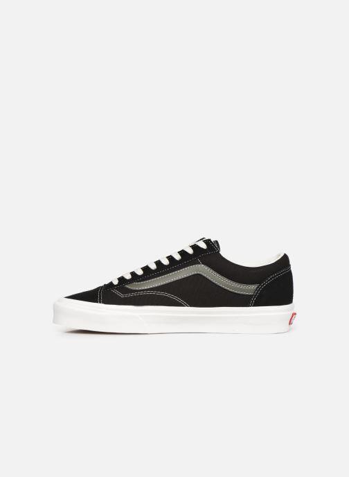 Sneaker Vans Style 36 (Vintage Sport) schwarz ansicht von vorne