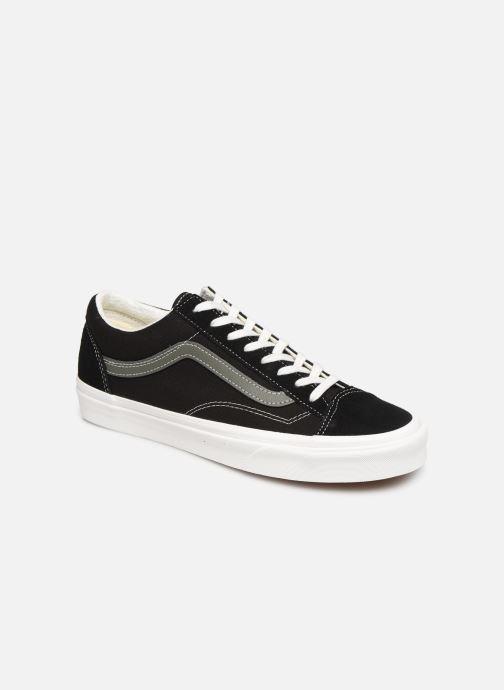 Sneaker Vans Style 36 (Vintage Sport) schwarz detaillierte ansicht/modell