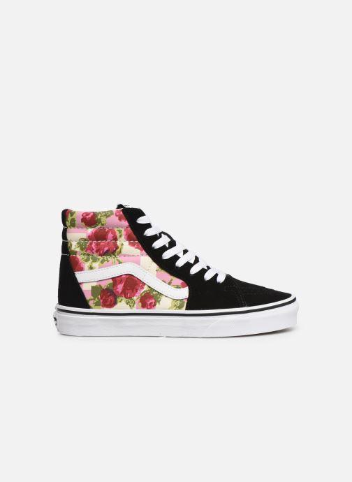 Sneakers Vans Sk8-Hi (Romantic Floral) Zwart achterkant