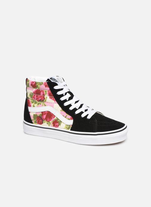 Trainers Vans Sk8-Hi (Romantic Floral) Black detailed view/ Pair view