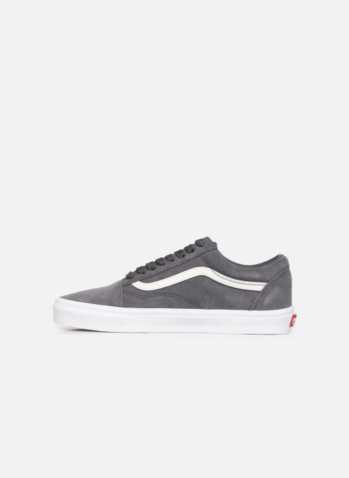 Trainers Vans Old Skool (Soft Suede) Grey front view