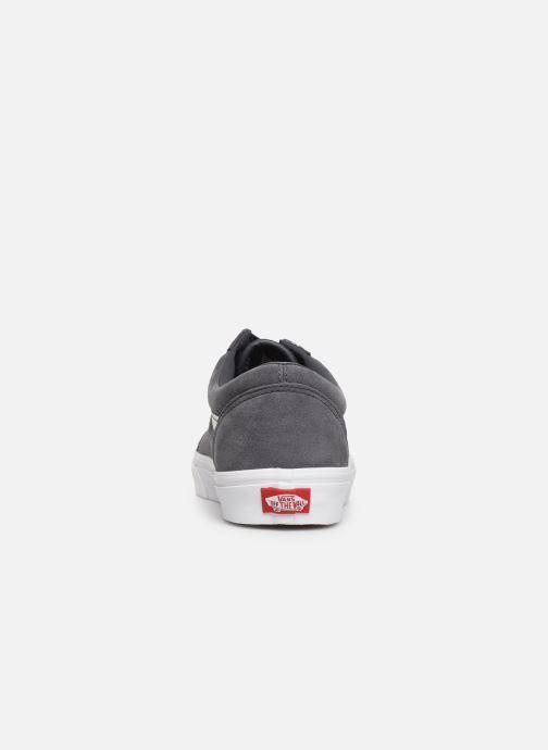 Sneakers Vans Old Skool (Soft Suede) Grigio immagine destra