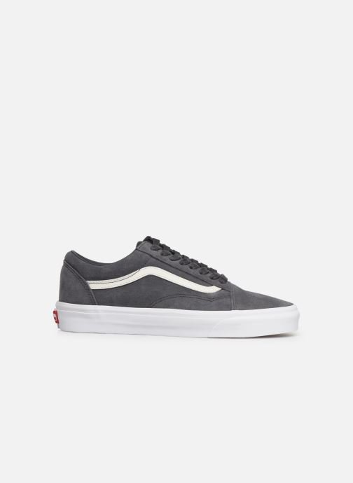 Trainers Vans Old Skool (Soft Suede) Grey back view