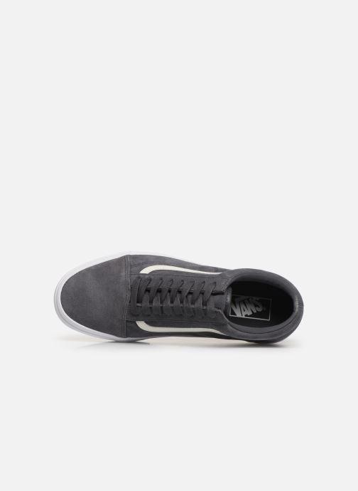 Sneakers Vans Old Skool (Soft Suede) Grigio immagine sinistra