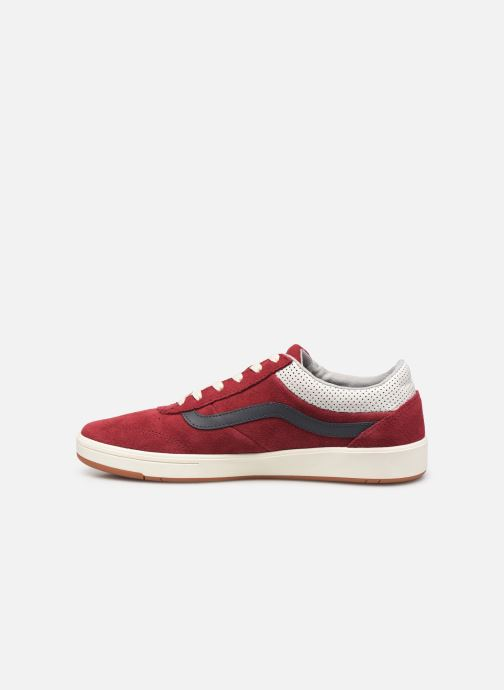 Trainers Vans Cruze CC (Suede) Red front view