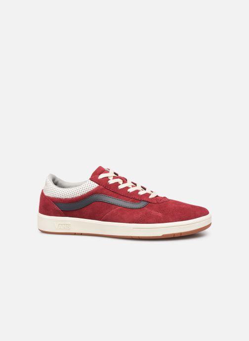 Sneakers Vans Cruze CC (Suede) Rød se bagfra