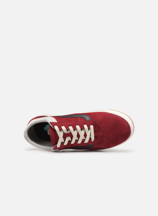 Trainers Vans Cruze CC (Suede) Red view from the left