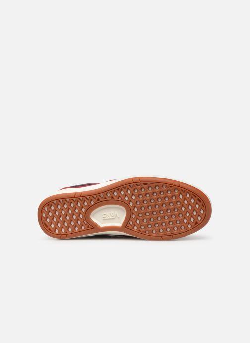 Baskets Vans Cruze CC (Suede) Rouge vue haut