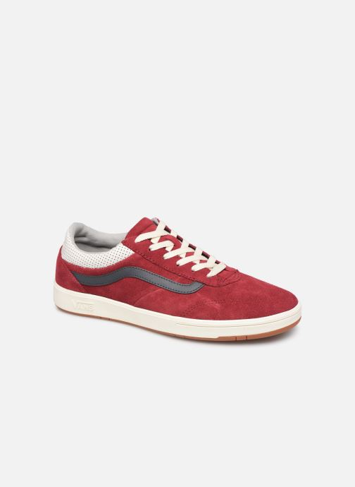 Trainers Vans Cruze CC (Suede) Red detailed view/ Pair view