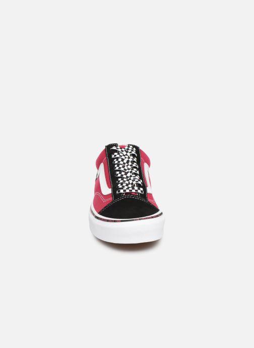 Baskets Vans Style 36 Rose vue portées chaussures