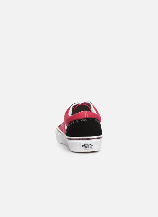 Sneaker Vans Style 36 rosa ansicht von rechts