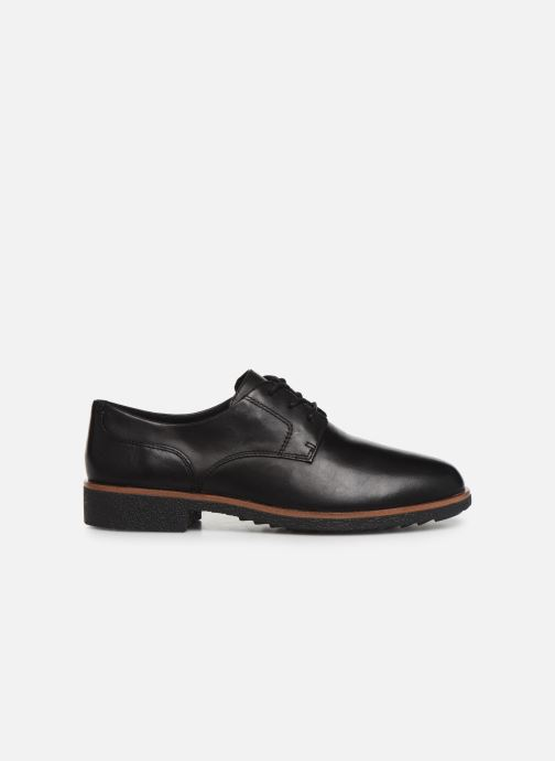 Chaussures à lacets Clarks Griffin Lane Noir vue derrière