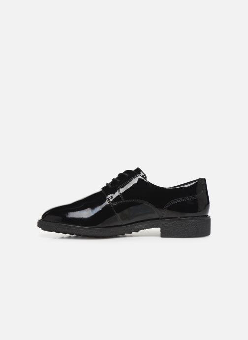 Zapatos con cordones Clarks Griffin Lane Negro vista de frente