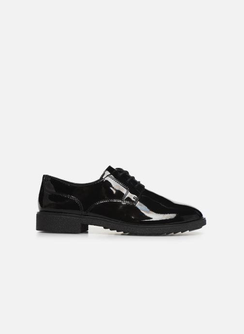 Zapatos con cordones Clarks Griffin Lane Negro vistra trasera