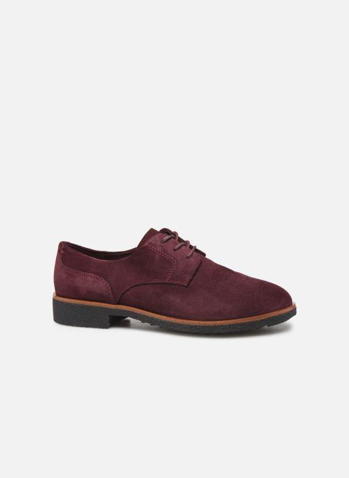 Chaussures à lacets Clarks Griffin Lane Bordeaux vue derrière