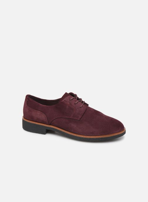 Zapatos con cordones Clarks Griffin Lane Vino vista de detalle / par