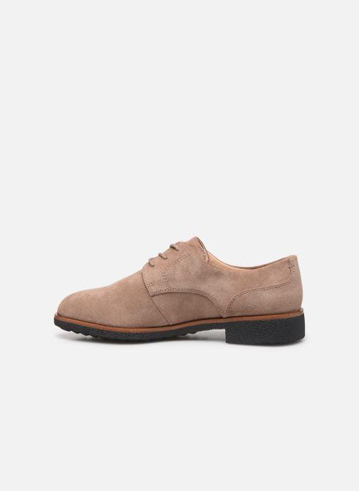 Chaussures à lacets Clarks Griffin Lane Beige vue face