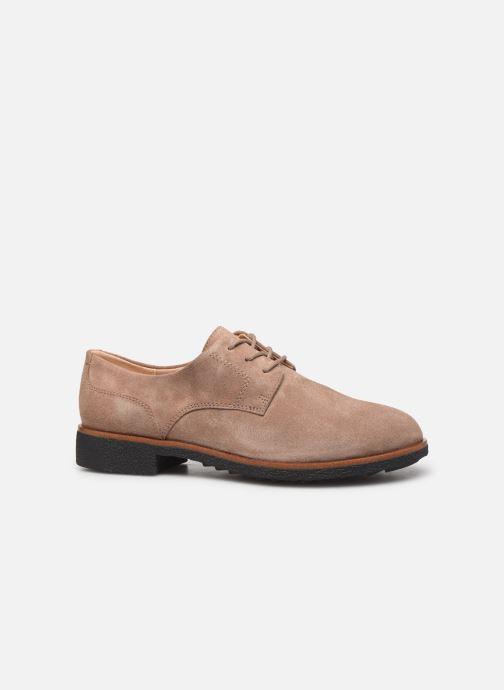 Chaussures à lacets Clarks Griffin Lane Beige vue derrière