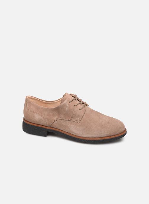 Chaussures à lacets Clarks Griffin Lane Beige vue détail/paire