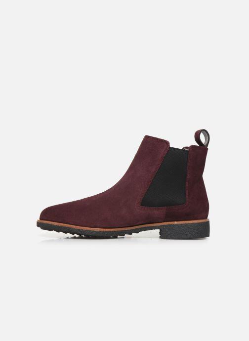 Bottines et boots Clarks Griffin Plaza Bordeaux vue face