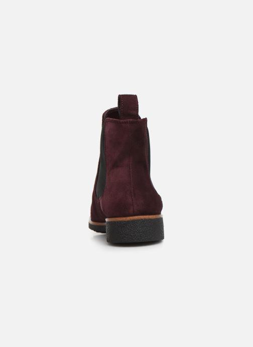 Bottines et boots Clarks Griffin Plaza Bordeaux vue droite
