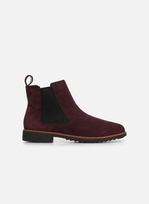 Bottines et boots Clarks Griffin Plaza Bordeaux vue derrière