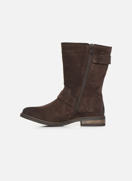 Bottines et boots Clarks Demi Flow Marron vue face