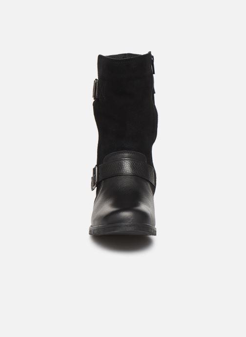Bottines et boots Clarks Demi Flow Noir vue portées chaussures