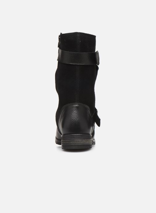 Ankle boots Clarks Demi Flow Black view from the right