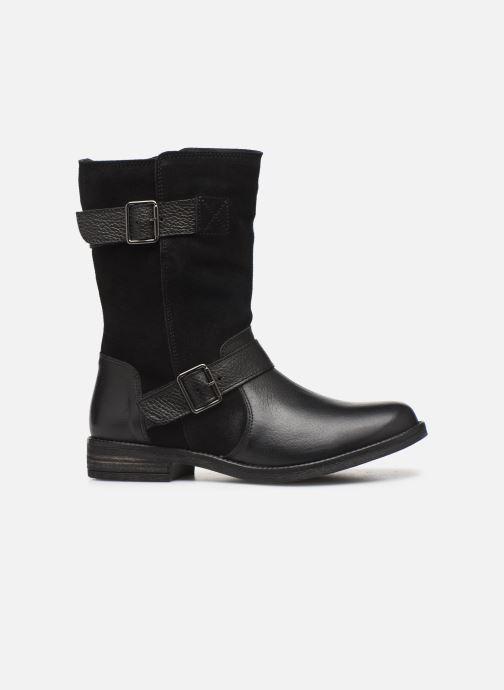 Ankle boots Clarks Demi Flow Black back view
