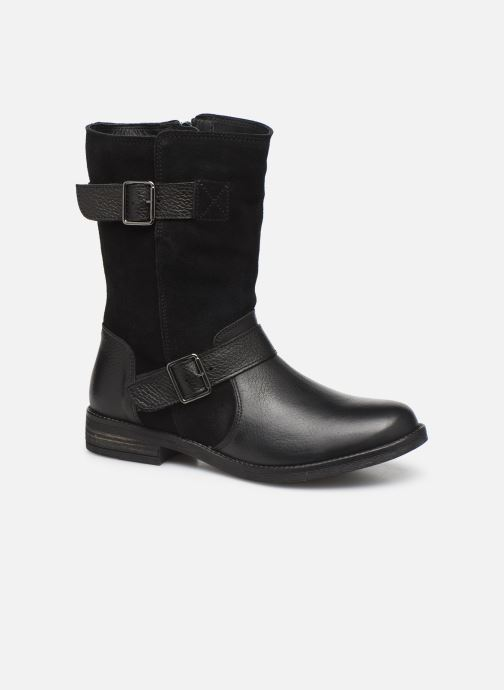Ankle boots Clarks Demi Flow Black detailed view/ Pair view