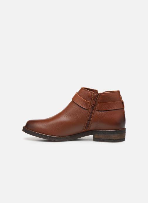 Bottines et boots Clarks Demi Tone Marron vue face