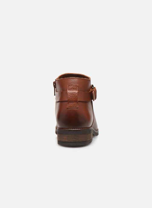 Bottines et boots Clarks Demi Tone Marron vue droite