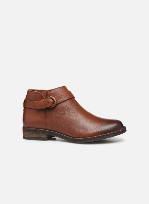 Boots en enkellaarsjes Clarks Demi Tone Bruin achterkant