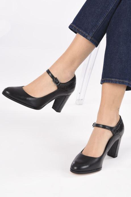 Zapatos de tacón Clarks Kaylin Alba Negro vista de abajo
