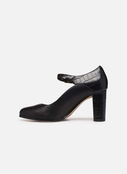Zapatos de tacón Clarks Kaylin Alba Negro vista de frente