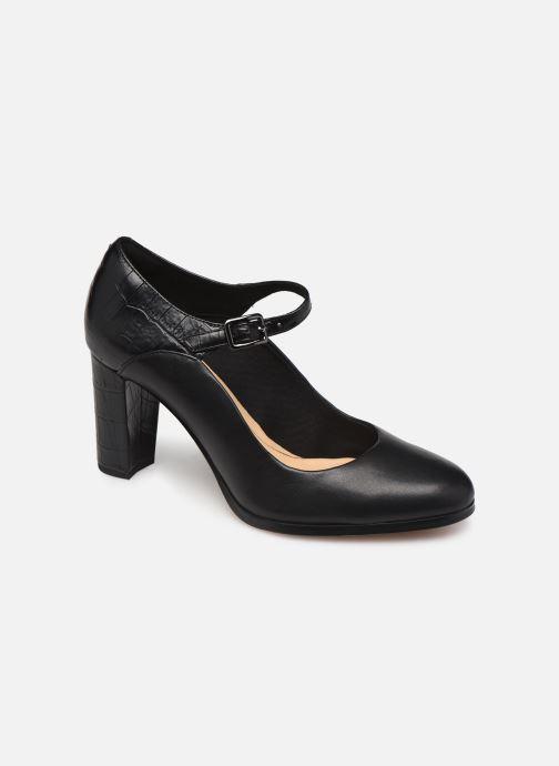 Zapatos de tacón Clarks Kaylin Alba Negro vista de detalle / par