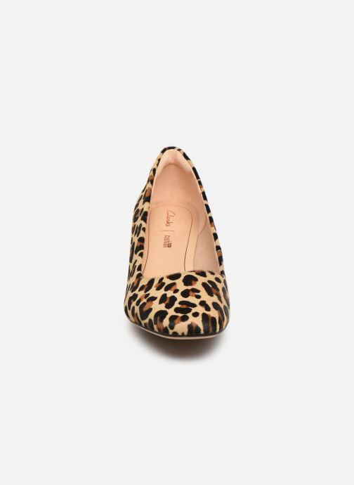 Escarpins Clarks Sheer Rose Marron vue portées chaussures