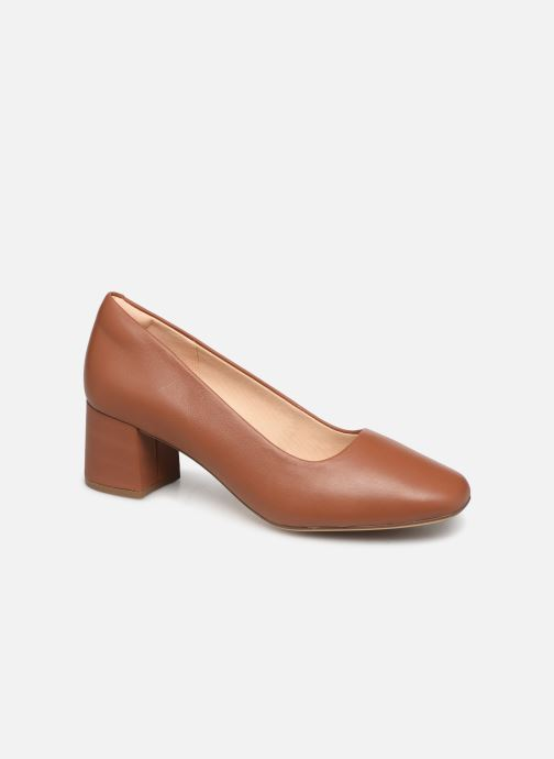 Escarpins Clarks Sheer Rose Marron vue détail/paire