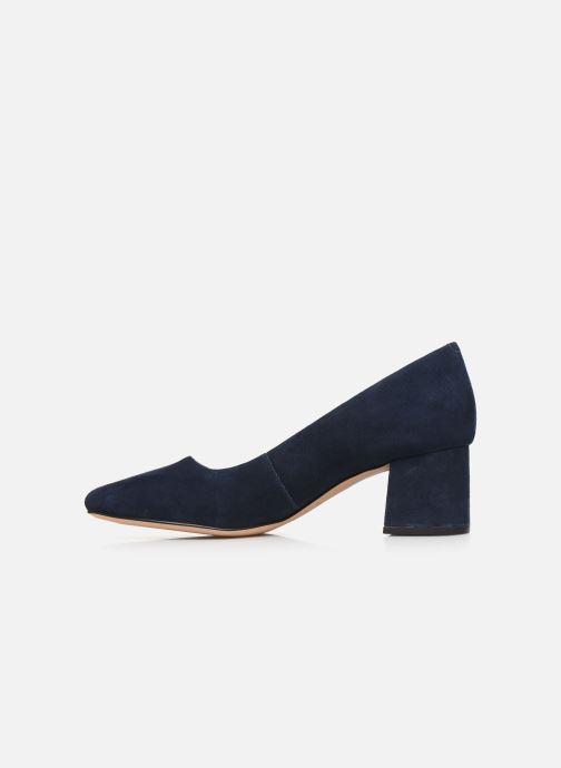 Zapatos de tacón Clarks Sheer Rose Azul vista de frente